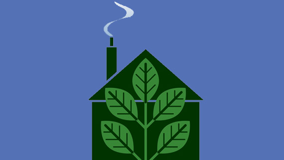 Smart efficiency in a wood burning stove