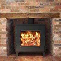 Nova wood stove fireplace